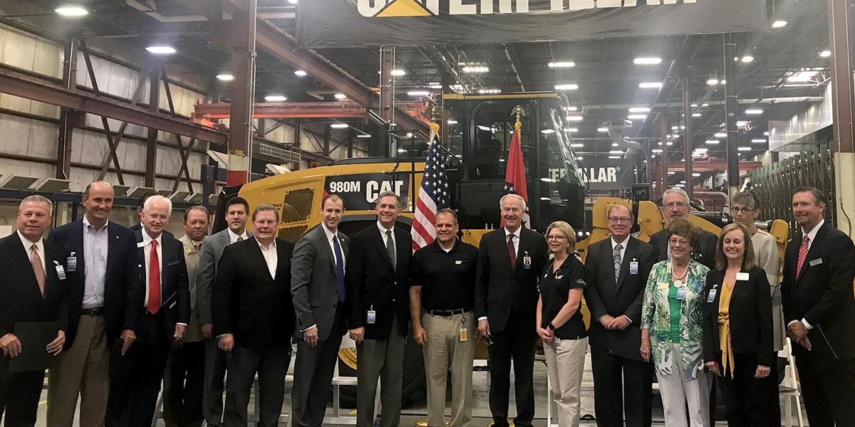 Caterpillar Expands with 250 New Jobs | Little Rock Regional